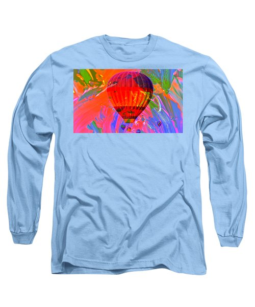 Long Sleeve T-Shirt featuring the photograph Dreaming Across The Sky by Jeff Swan
