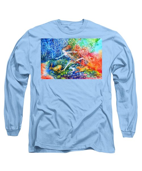 Dreaming With Hares Long Sleeve T-Shirt