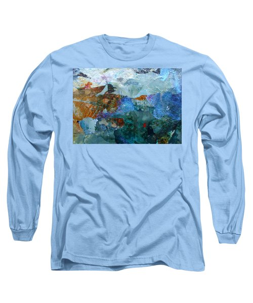 Long Sleeve T-Shirt featuring the painting Dreamland by Mary Sullivan