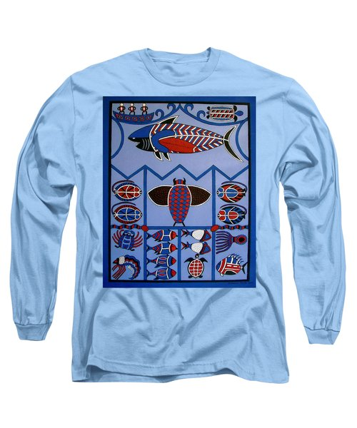 Long Sleeve T-Shirt featuring the painting Dreamtime by Stephanie Moore
