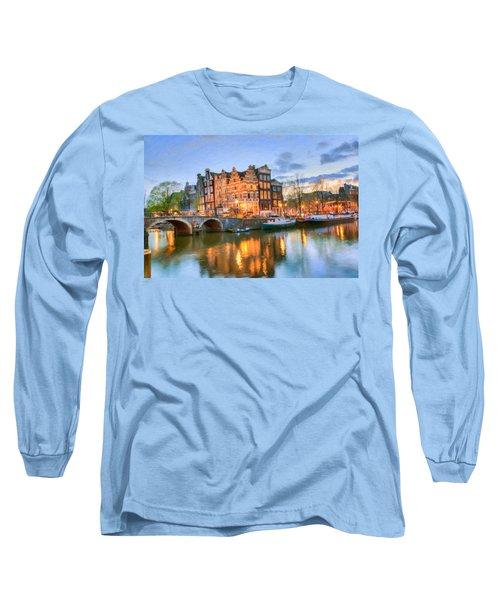 Dreamy Amsterdam   Long Sleeve T-Shirt