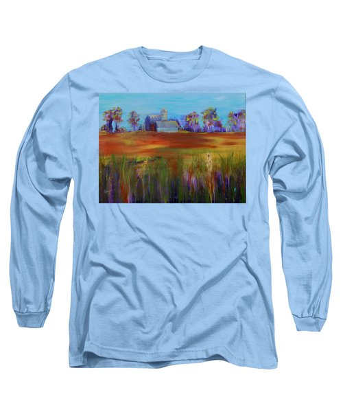 Drive-by View Long Sleeve T-Shirt by Terri Einer