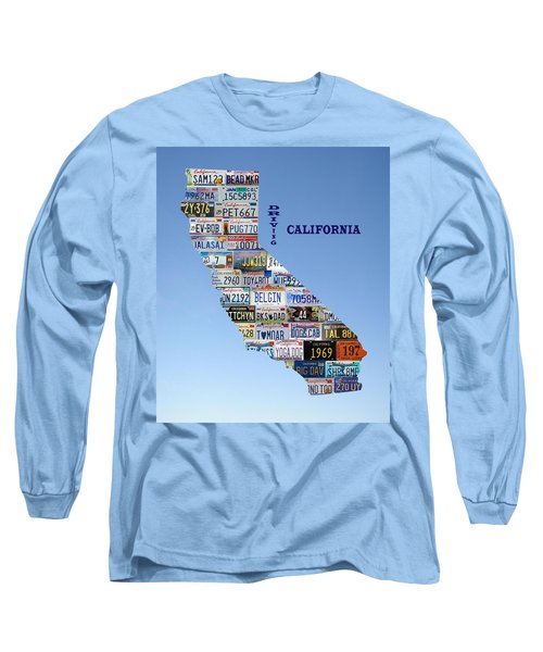 Driving California Long Sleeve T-Shirt