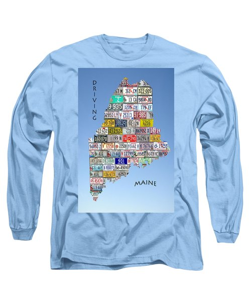 Driving Maine Long Sleeve T-Shirt