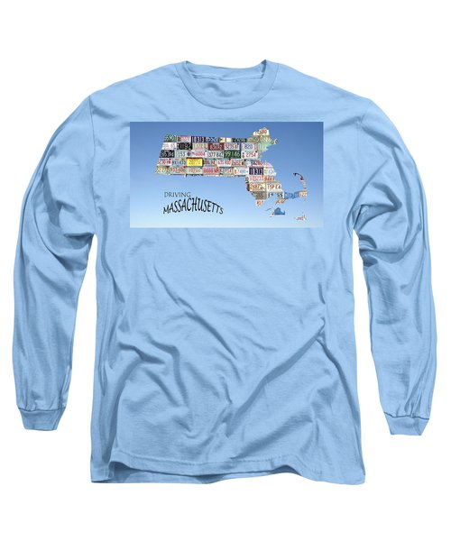 Driving Massachusetts Long Sleeve T-Shirt
