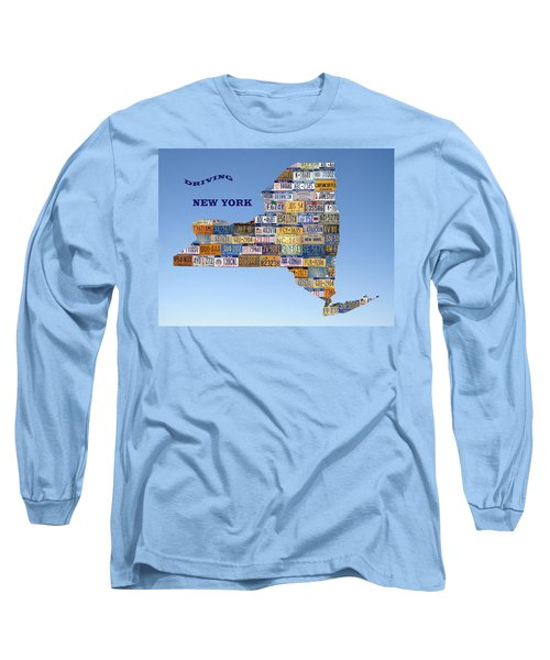 Driving New York Long Sleeve T-Shirt by Jewels Blake Hamrick