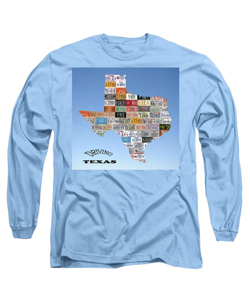 Driving Texas Long Sleeve T-Shirt