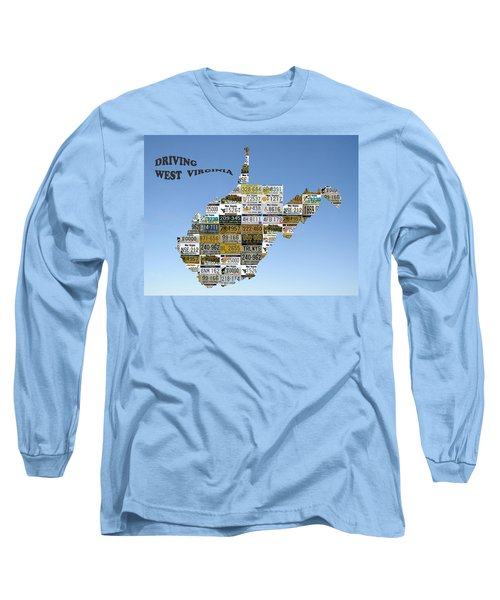 Driving West Virginia Long Sleeve T-Shirt by Jewels Blake Hamrick