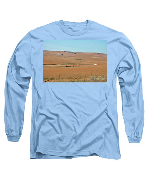 Drought-stricken South African Farmlands - 1 Of 3  Long Sleeve T-Shirt