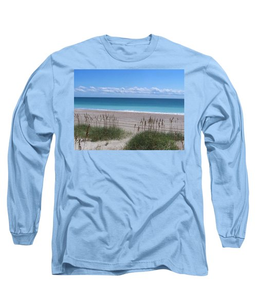Long Sleeve T-Shirt featuring the photograph Dunes On The Outerbanks by Sandi OReilly