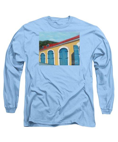 Dutch Doors Of St. Thomas Long Sleeve T-Shirt