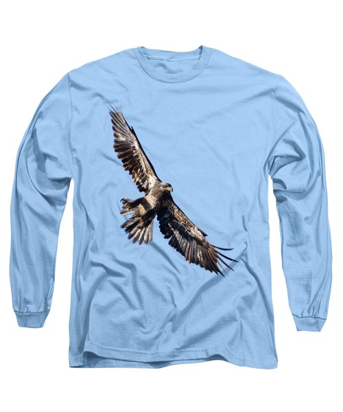 Eagle Long Sleeve T-Shirt by Greg Norrell
