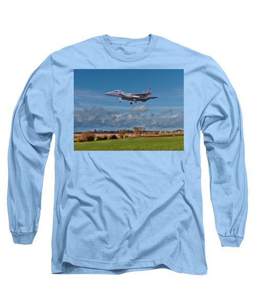 Eagle On Finals Long Sleeve T-Shirt