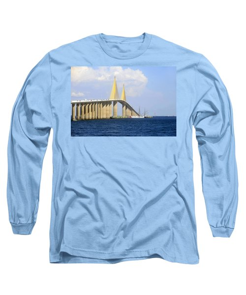 Eagle Under The Sunshine Long Sleeve T-Shirt