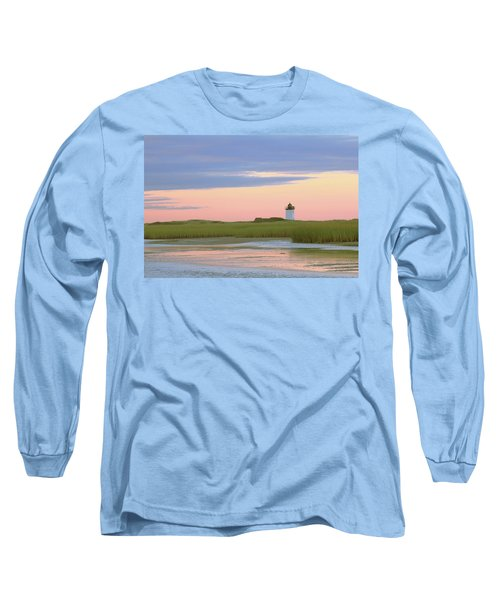 Long Sleeve T-Shirt featuring the photograph Early Light At Wood End Light by Roupen  Baker
