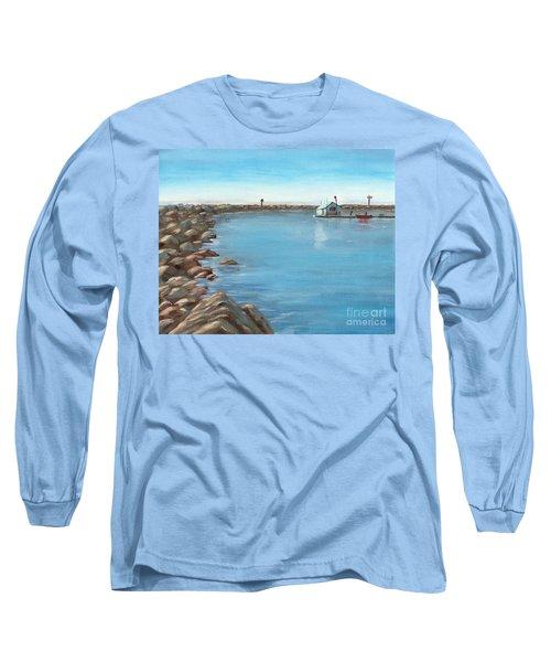 Early Morning At Dana Point Long Sleeve T-Shirt