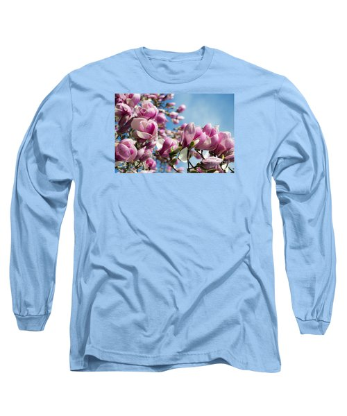 Early Spring Magnolia Long Sleeve T-Shirt