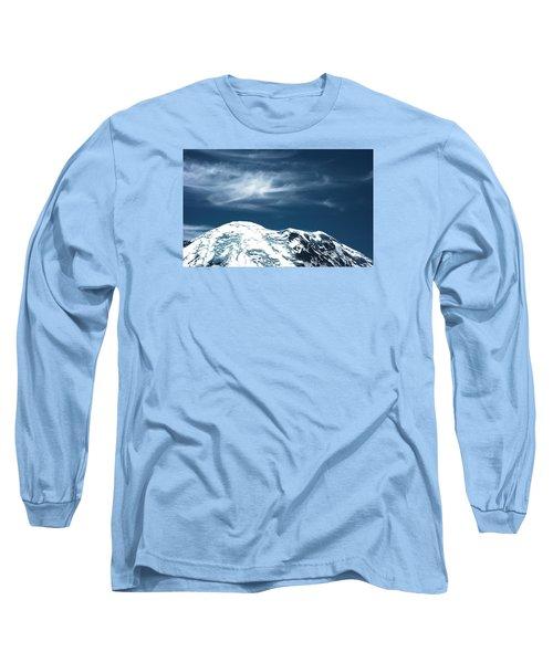 Earth And Heaven Long Sleeve T-Shirt by John Rossman