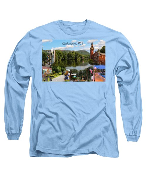 Easthampton Ma Collage Long Sleeve T-Shirt