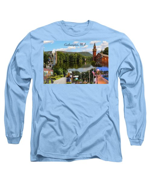 Easthampton Ma Collage Long Sleeve T-Shirt