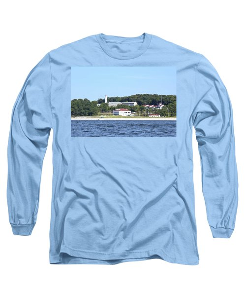Eatons Neck Lighthouse Long Sleeve T-Shirt