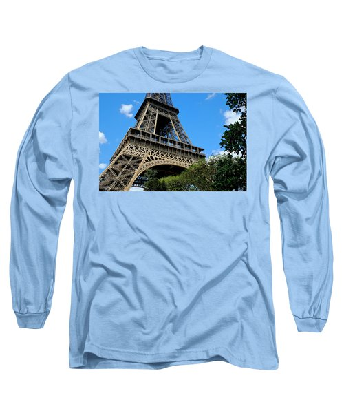 Long Sleeve T-Shirt featuring the photograph Eiffel Robust by August Timmermans