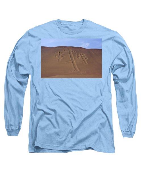 El Candelabro Peru Long Sleeve T-Shirt by Aidan Moran