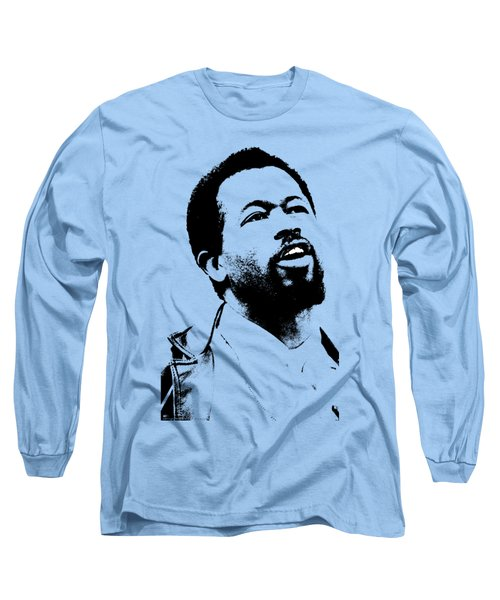 Eldridge Cleaver Long Sleeve T-Shirt by Otis Porritt