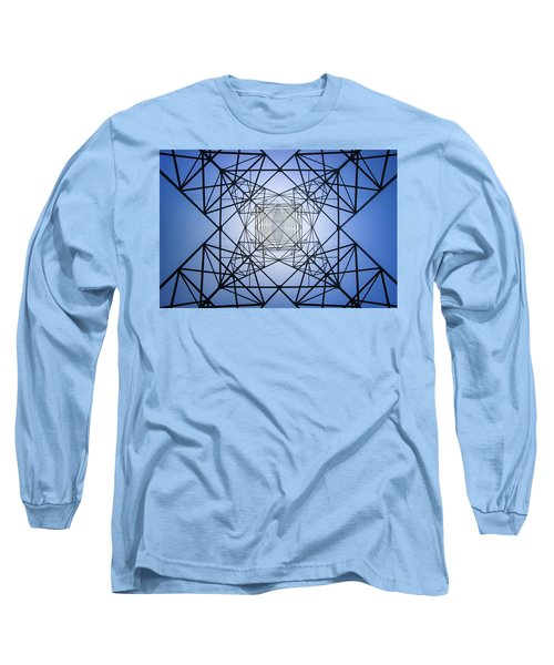 Electrical Symmetry Long Sleeve T-Shirt
