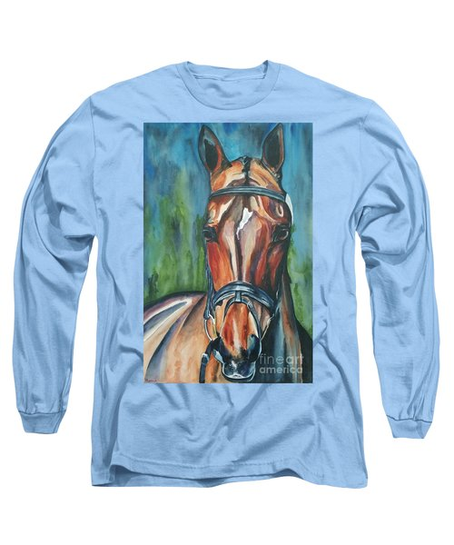 Elegance In Color Long Sleeve T-Shirt