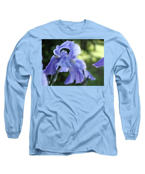 Elegant Iris In Spring Long Sleeve T-Shirt