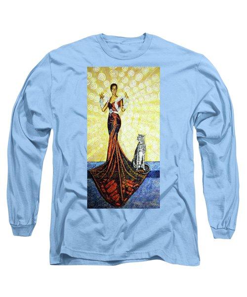 Elegant Long Sleeve T-Shirt