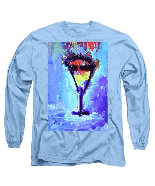 Elixir Of Life Long Sleeve T-Shirt by Amara Dacer