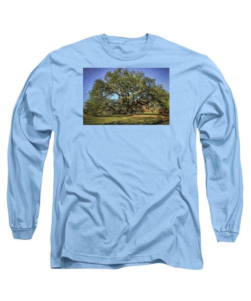 Emancipation Oak Tree Long Sleeve T-Shirt