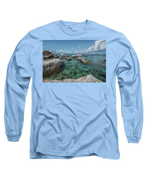 Emerald Bath  Long Sleeve T-Shirt