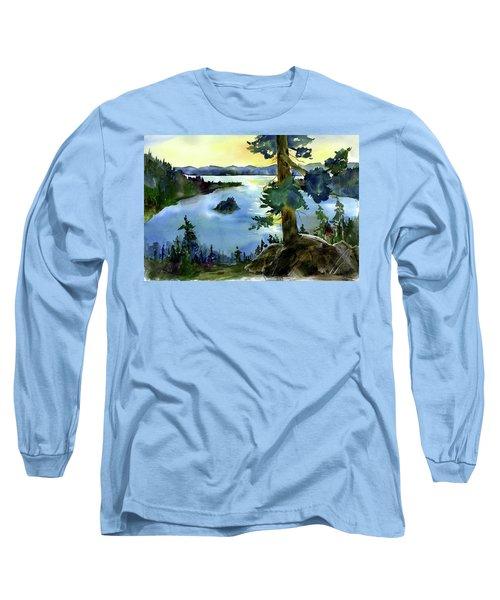Emerald Morn, Lake Tahoe Long Sleeve T-Shirt