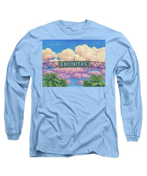 Encinitas Sunset Long Sleeve T-Shirt
