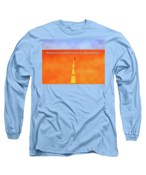 End Of The Line Greeting Card Long Sleeve T-Shirt by Thomas Blood