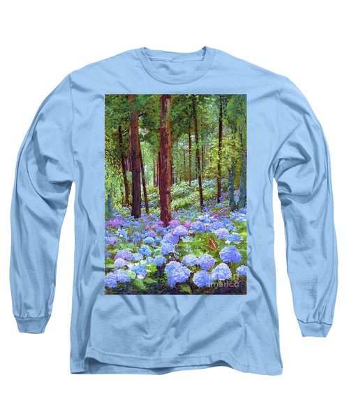 Endless Summer Blue Hydrangeas Long Sleeve T-Shirt