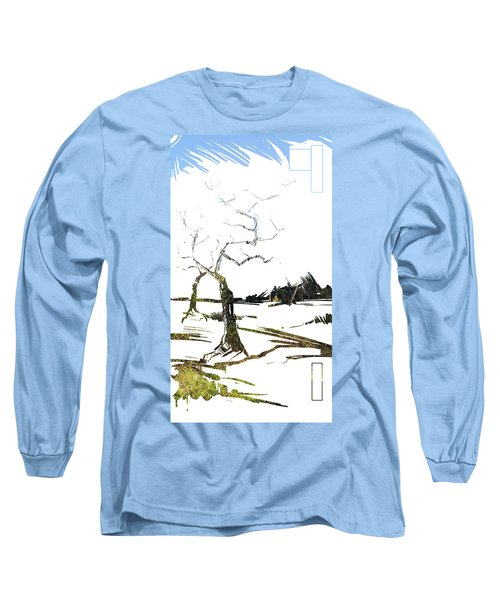 Energy . Tree Long Sleeve T-Shirt