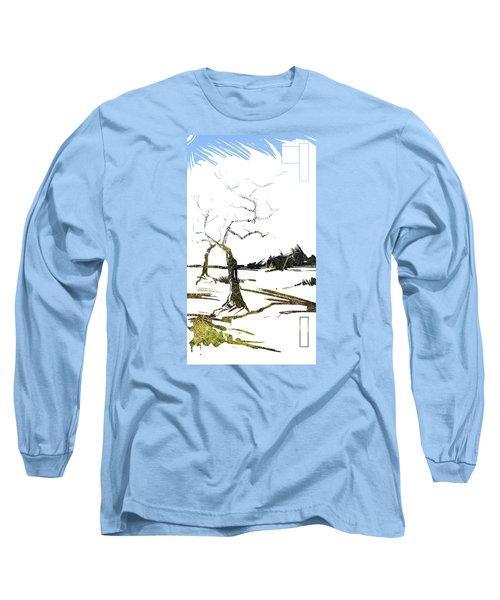 Energy . Tree Long Sleeve T-Shirt