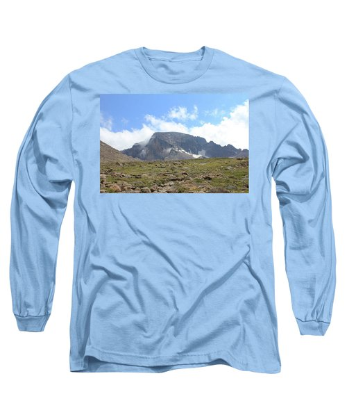 Entering The Boulder Field Long Sleeve T-Shirt by Christin Brodie
