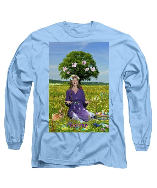 Eostre Long Sleeve T-Shirt by David Clanton