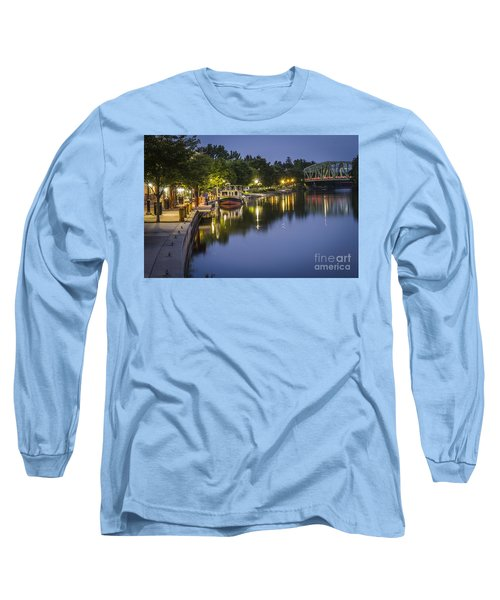 Erie Canal Shoreline Long Sleeve T-Shirt