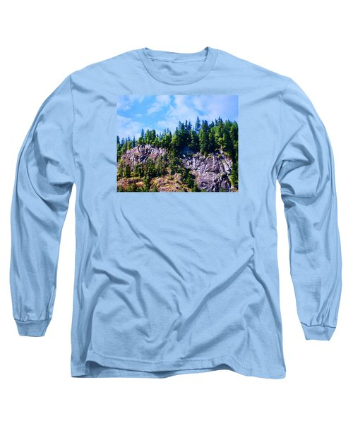 Long Sleeve T-Shirt featuring the photograph Escarpment 2 by Timothy Bulone