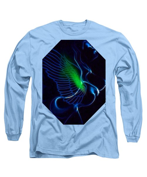 Ethnic Wing T-shirt Long Sleeve T-Shirt
