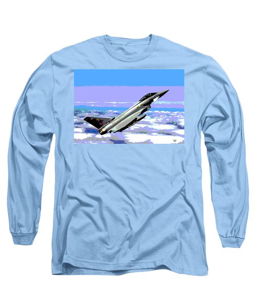 Eurofighter Typhoon Long Sleeve T-Shirt by Charles Shoup