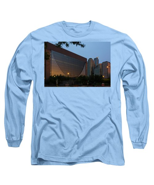 Evening In Downtown Minneapolis Long Sleeve T-Shirt