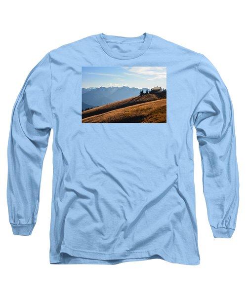 Long Sleeve T-Shirt featuring the photograph Evening Light by Ronda Broatch