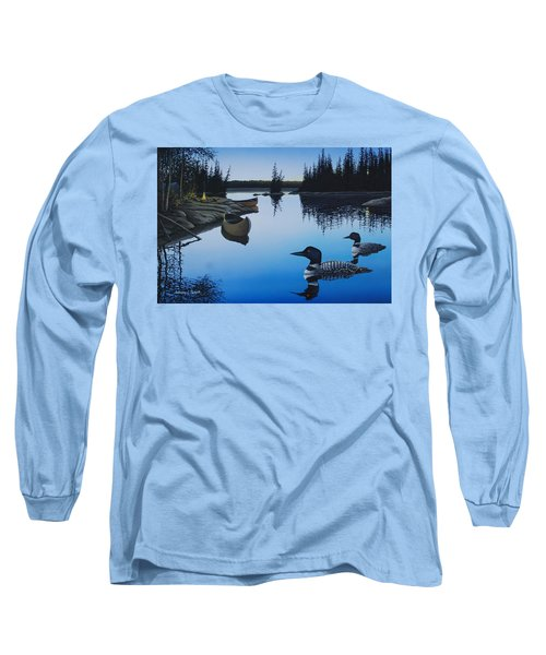 Evening Loons Long Sleeve T-Shirt
